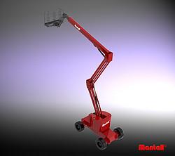 自行式曲臂型高空作业平台