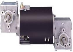 双涡轮蜗杆减速齿轮箱电机