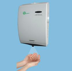塑料自动感应消毒器,手消毒器-给皂机