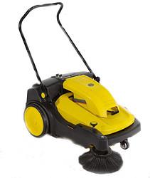 供应驰洁手推式扫地机CJS70-1|工厂地面卫生处理专家