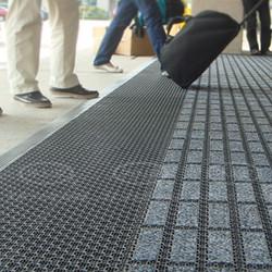 进口入户刮沙除尘吸水地垫地毯酒店别墅门垫拼接地垫
