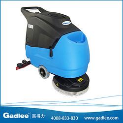 广东嘉得力Gadlee 拖地机手推电瓶全自动洗地机GT55 车间洗地车