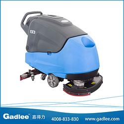 广东嘉得力 Gadlee双刷 手推式 自动洗地机GT85 电瓶式洗地车