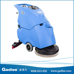 广东嘉得力 Gadlee 手推式电瓶式全自动洗地机 GT50 拖地机洗地车