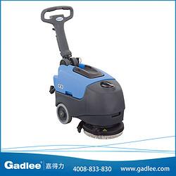 广东嘉得力 Gadlee 手推式洗地机GT25 电瓶式洗地车 拖地机