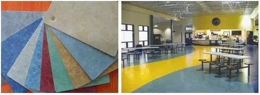 PVC地板特点
