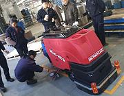 新产品-美国卡特FACTORY CAT MINI-HD手推式洗地机