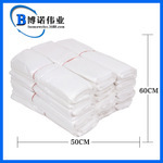 白色平口垃圾袋 50*60cm