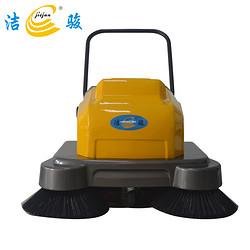 洁骏S1000手推式扫地机工厂车间用电瓶式扫地车工物业小区道路清扫车