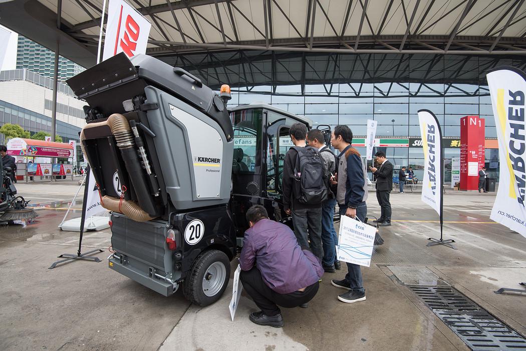 2017年上海国际清洁技术与设备博览会 户外演示04