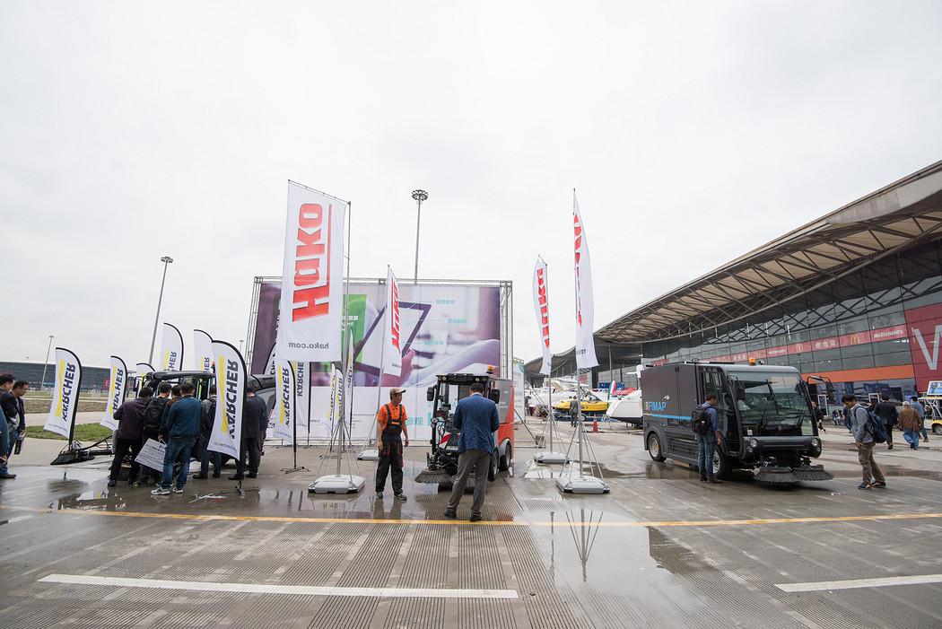 2017年上海国际清洁技术与设备博览会 户外演示06
