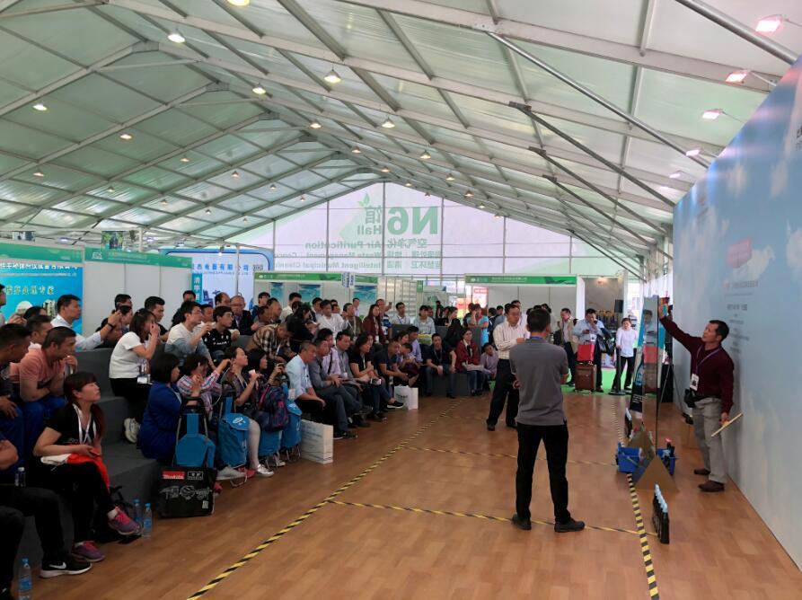 2018中国清洁技能大赛之第六届快乐清洁工玻璃清洁技能大赛