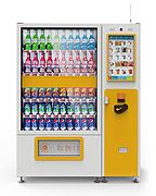 升降型蔬菜水果 鸡蛋 智能售货机 制冷自动售货机 无人售货机