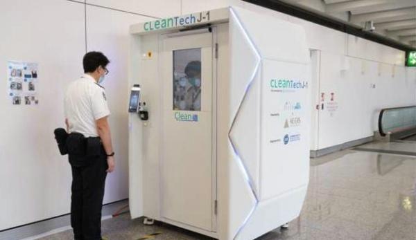 国内疫情 疫情下的香港机场 引进新技术 清洁消毒不松懈